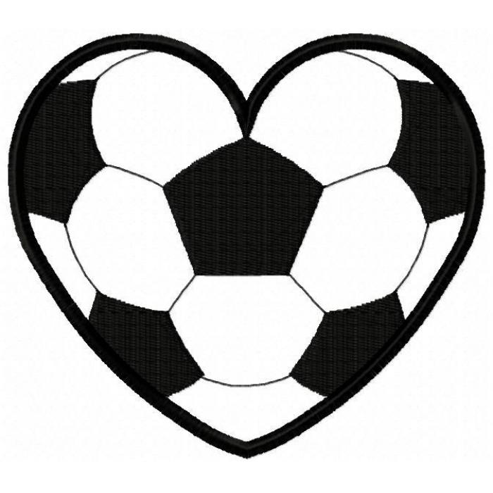 Hearts clipart soccer. Free heart sports cliparts