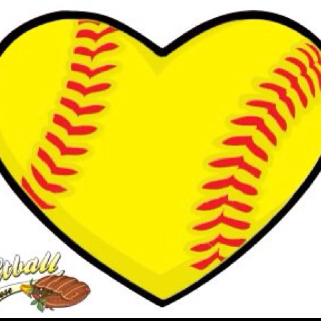 Free love cliparts download. Hearts clipart softball