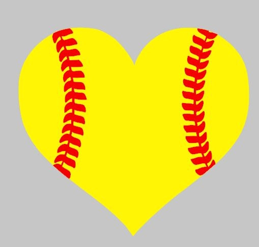 Hearts clipart softball. Free love cliparts download