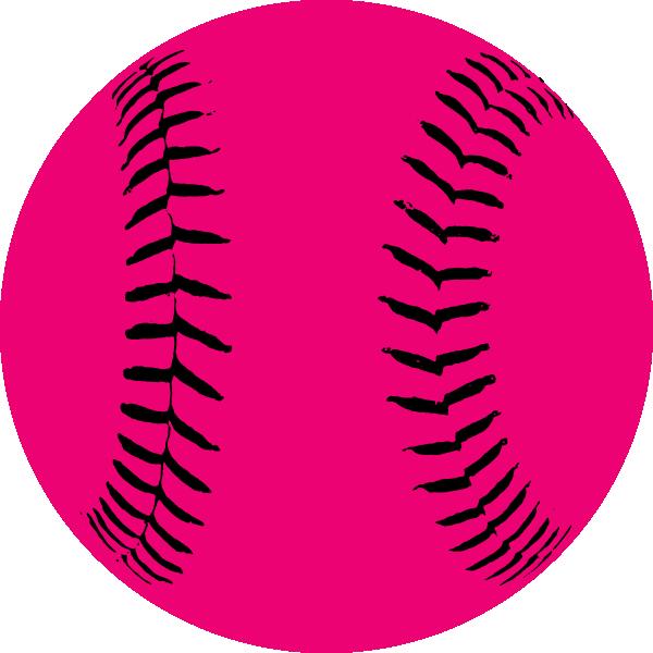 Pink hi free images. Softball clipart softball game