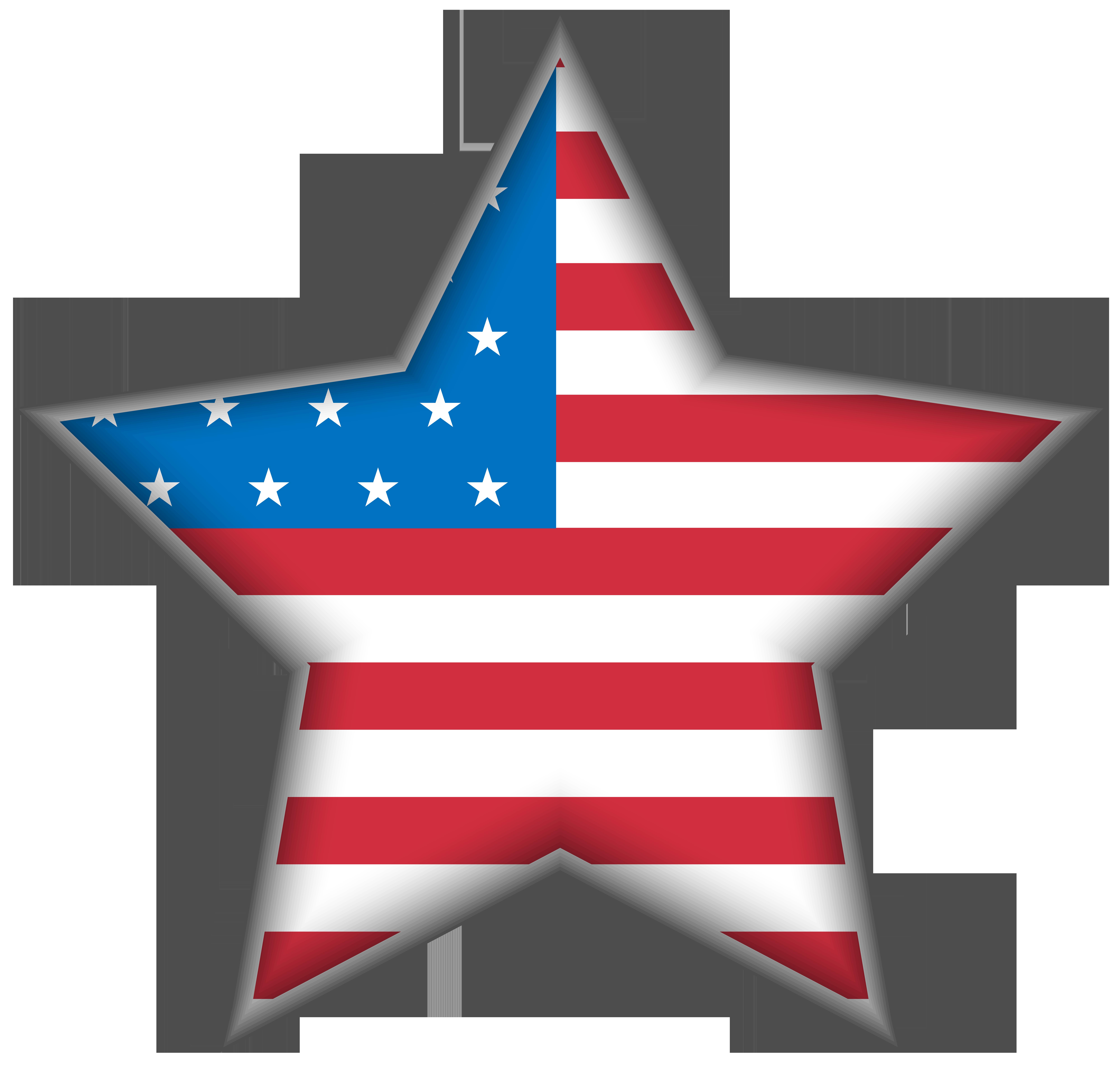 Usa png clip art. Clipart hearts star