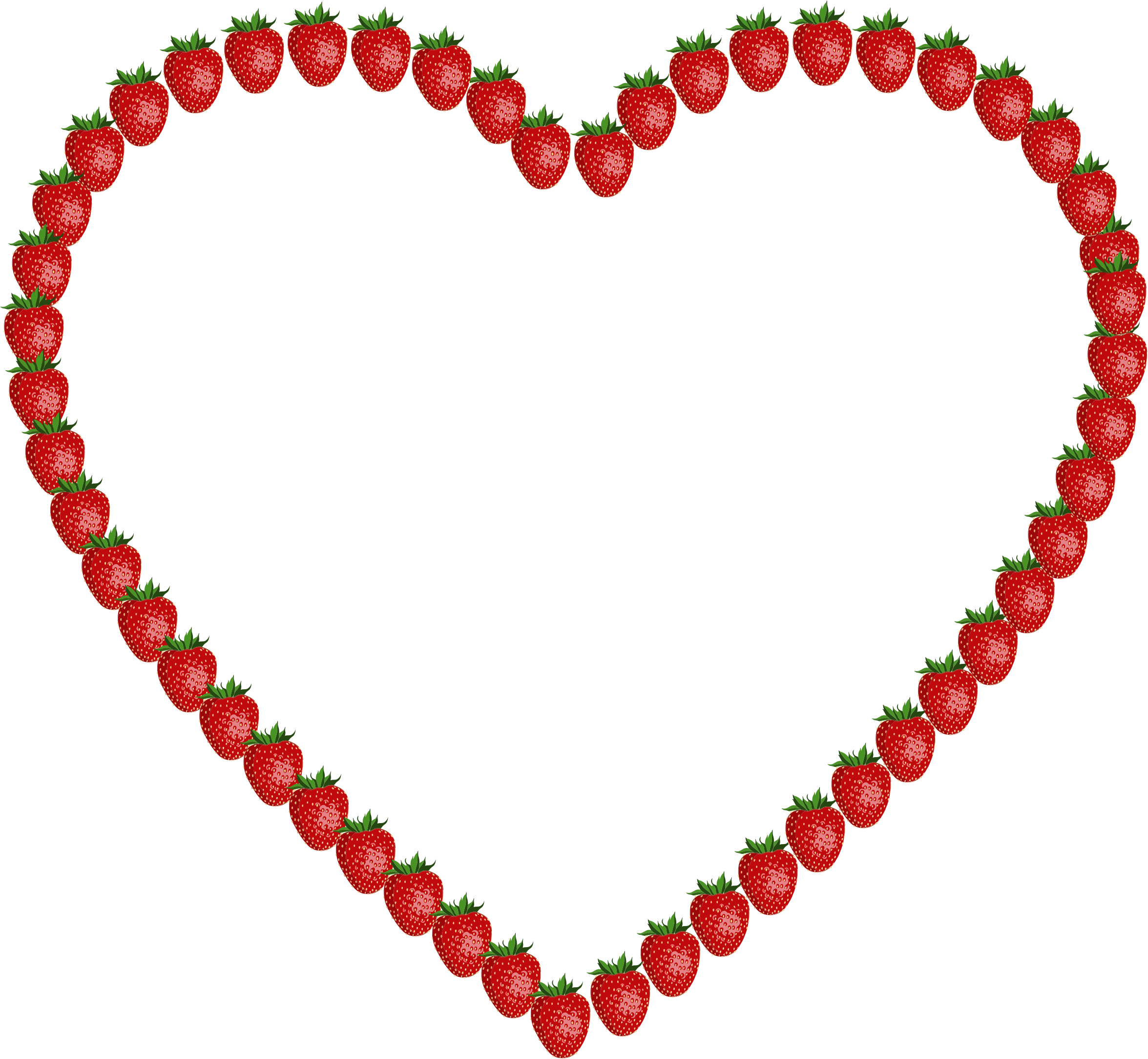 Strawberry big image png. Strawberries clipart heart