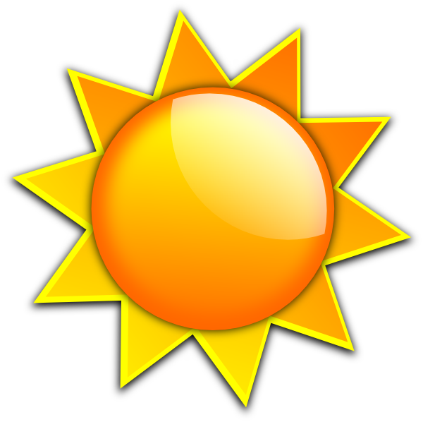 Sun drawings clip art. Sunny clipart fun glass