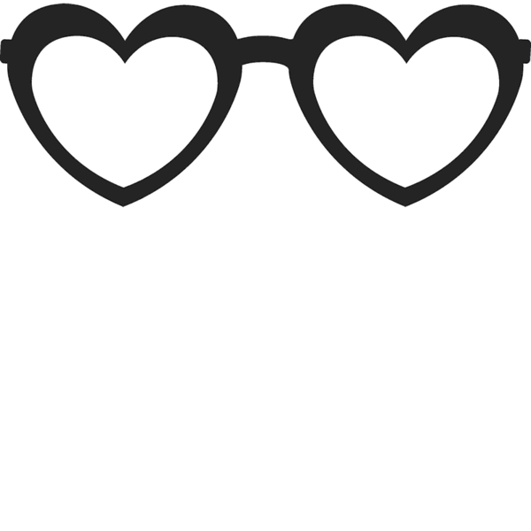 Glasses rubber stamps stamptopia. Clipart heart sunglass