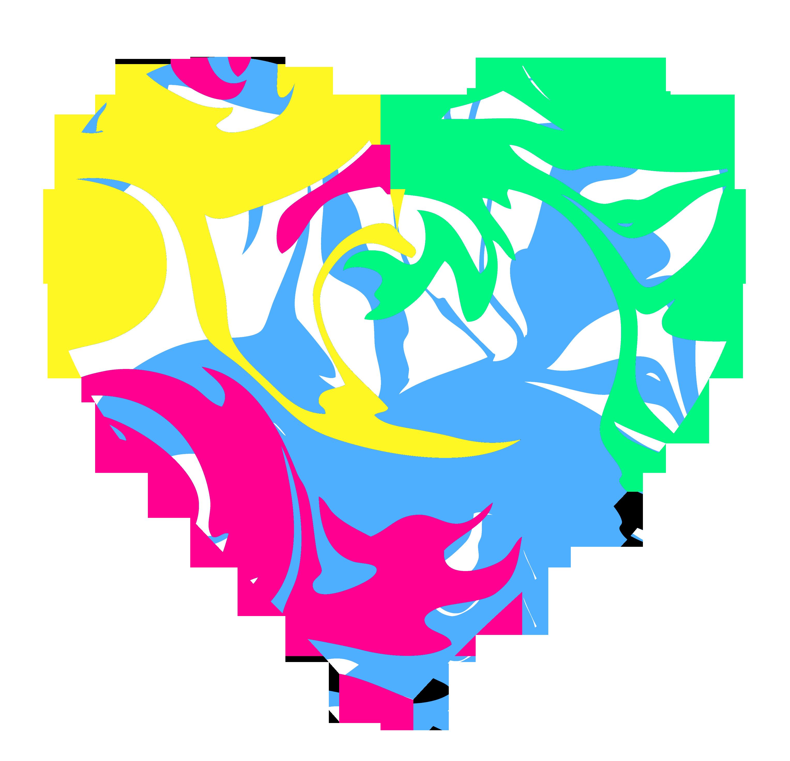 Heart swirls panda free. Clipart stars swirl