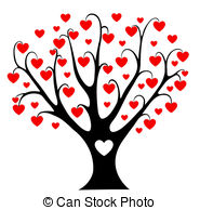 Free cliparts download clip. Hearts clipart tree