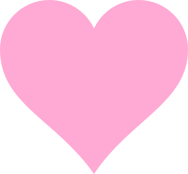 Heart clipart pink. Hearts acur lunamedia co