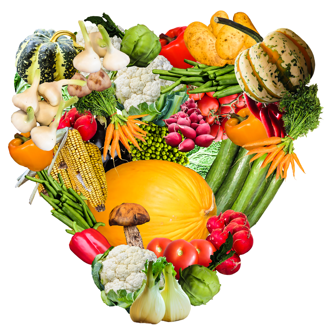 Png image purepng free. Vegetables clipart heart