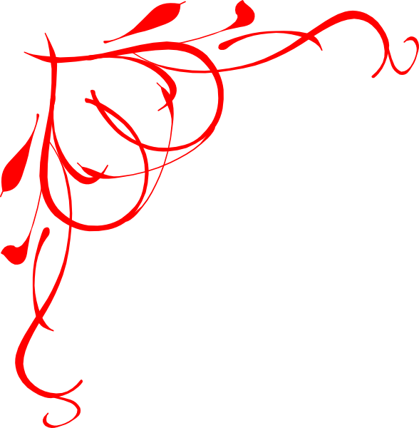 Red clip art at. Clipart heart vine