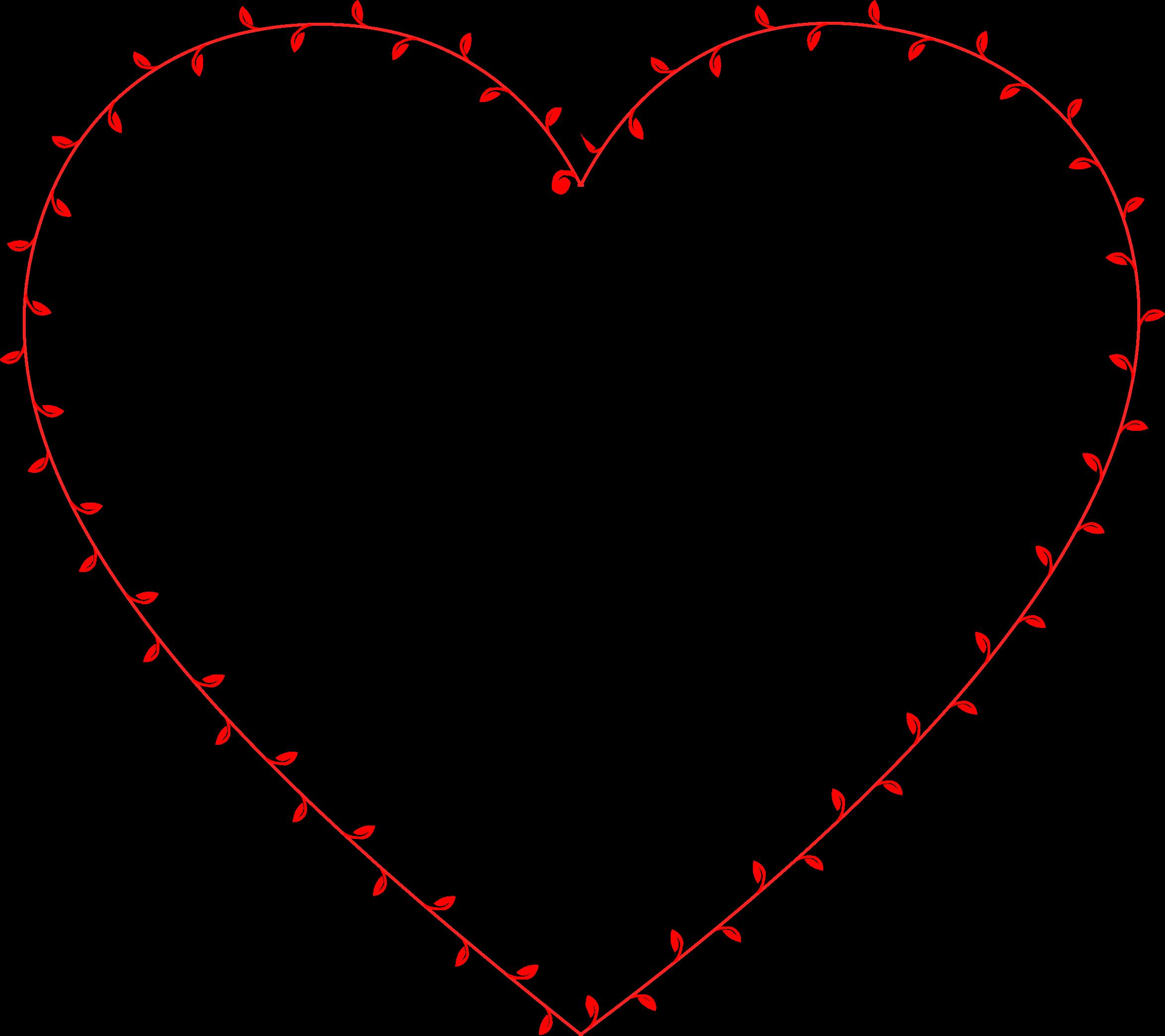 Hearts clipart vine. Ivy heart big image