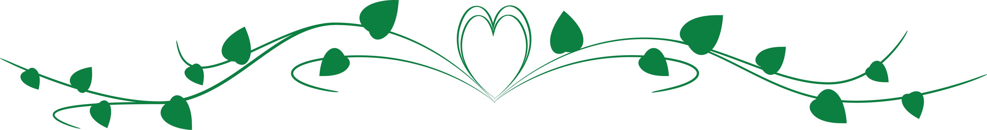 Heart clip art arts. Hearts clipart vine