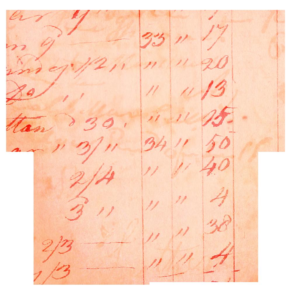 Hearts clipart handwritten. Vintage ledger paper call