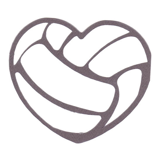 Free cliparts heart download. Clipart volleyball shape