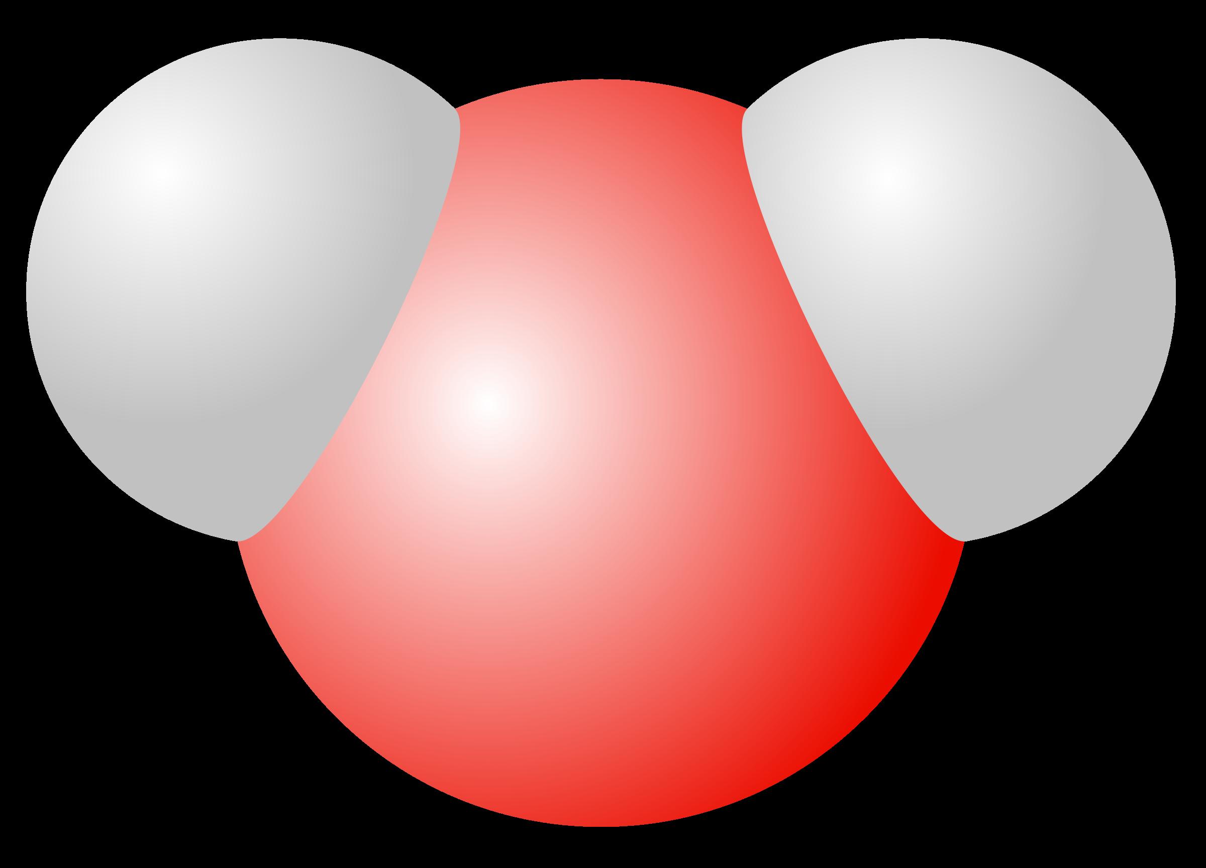 Molecule big image png. Heart clipart water