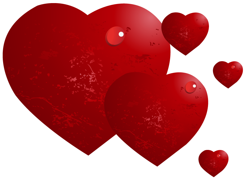 Red with drops png. Hearts clipart water