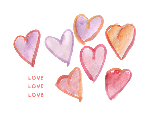 Free heart cliparts download. Clipart hearts watercolor