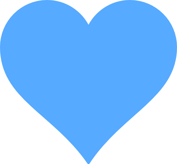 Heart public domain music. Lines clipart blue