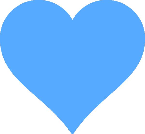 Clipart sun minimalist. Blue heart public domain