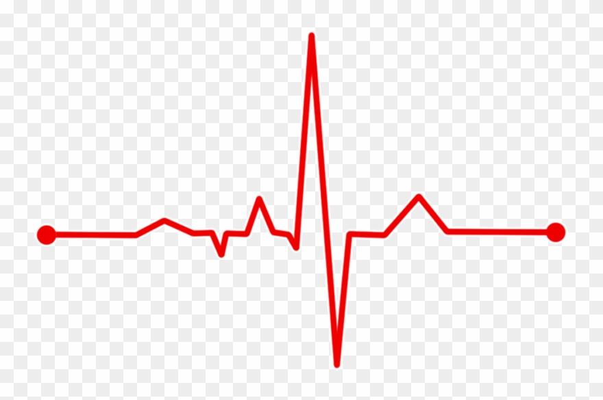 Heartbeat clipart wave. Heart rate bpm ecg