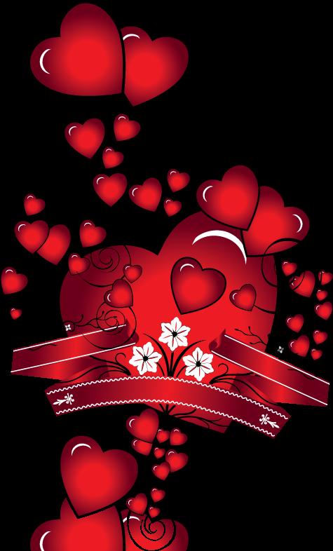 Clipart heart winter. P tits coeurs corazones