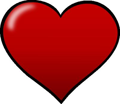 Shape panda free images. Clipart heart