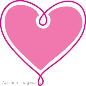 Clipart hearts. Clip art pink heart