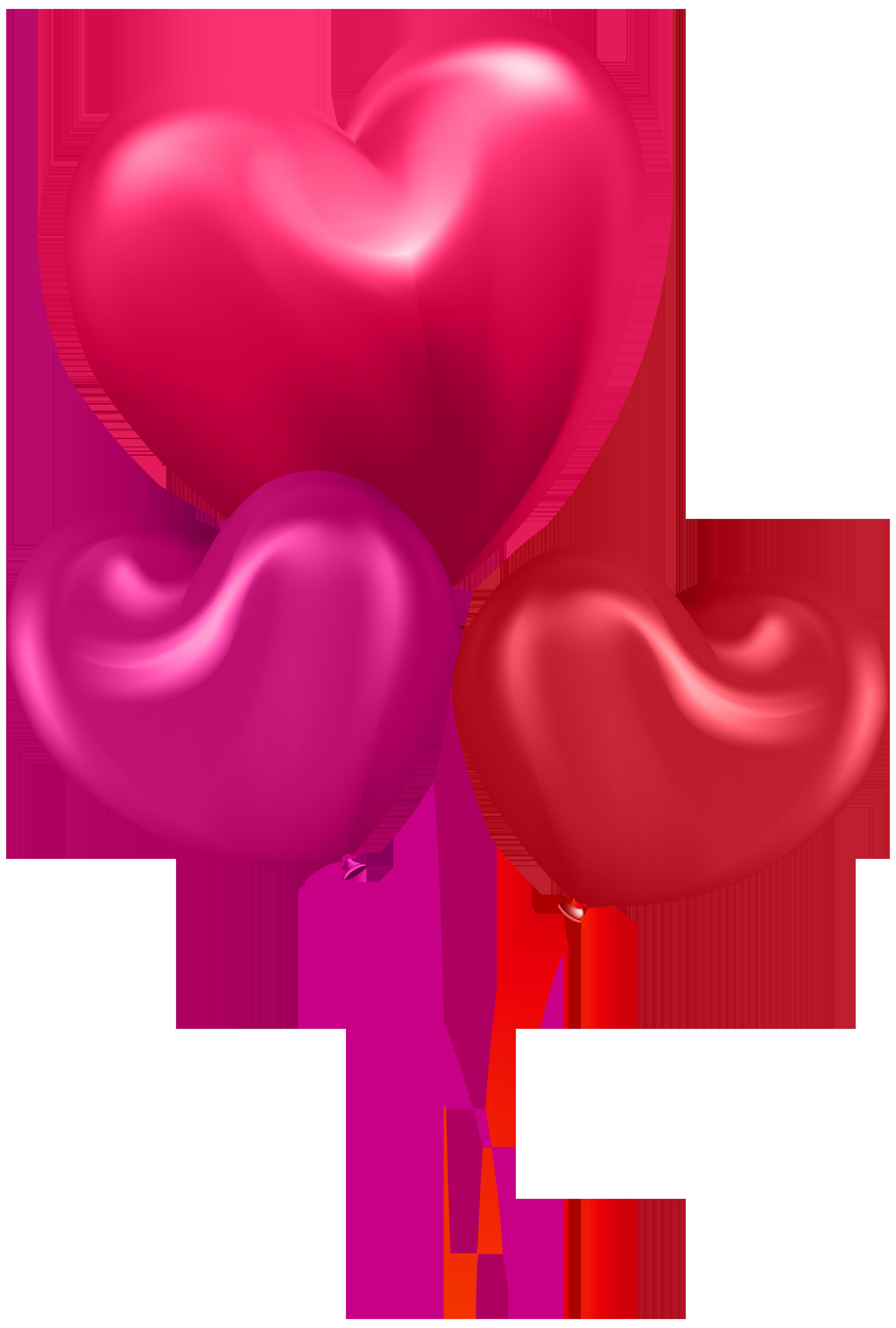 Clipart hearts balloon. Transparent clip art gallery