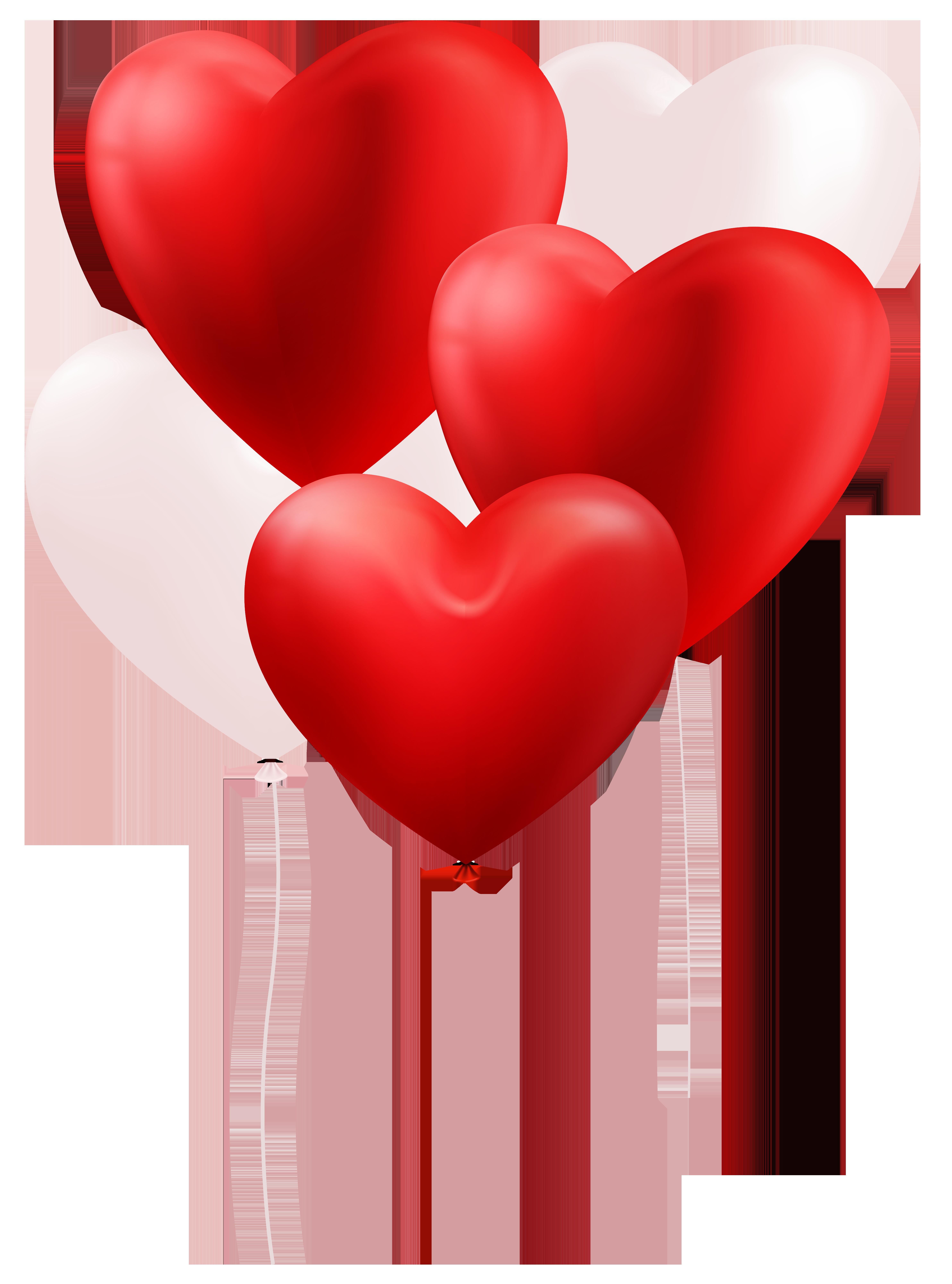 Heart balloons clip art. Clipart hearts balloon