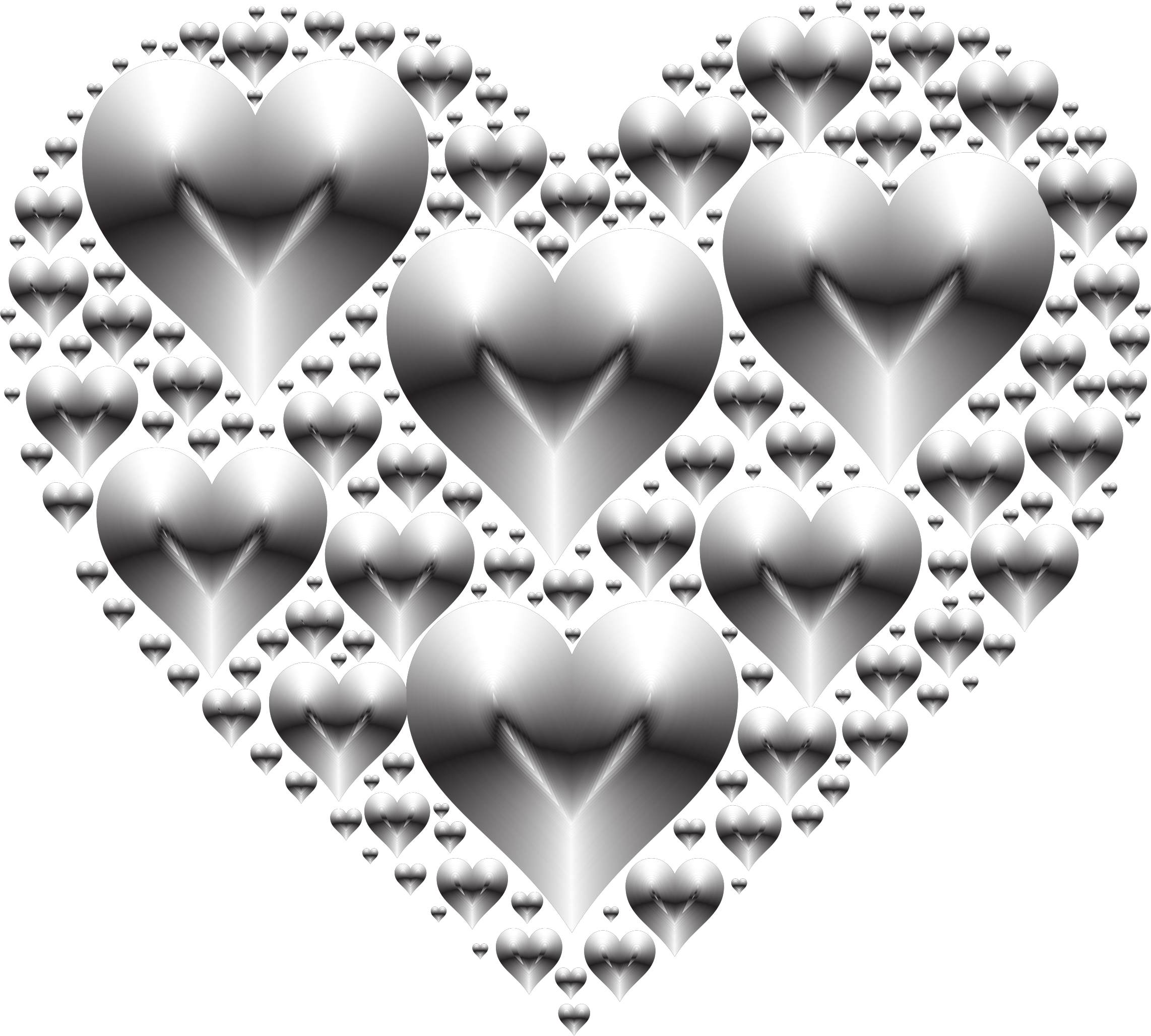 Clipart hearts black and white. In heart rejuvenated no