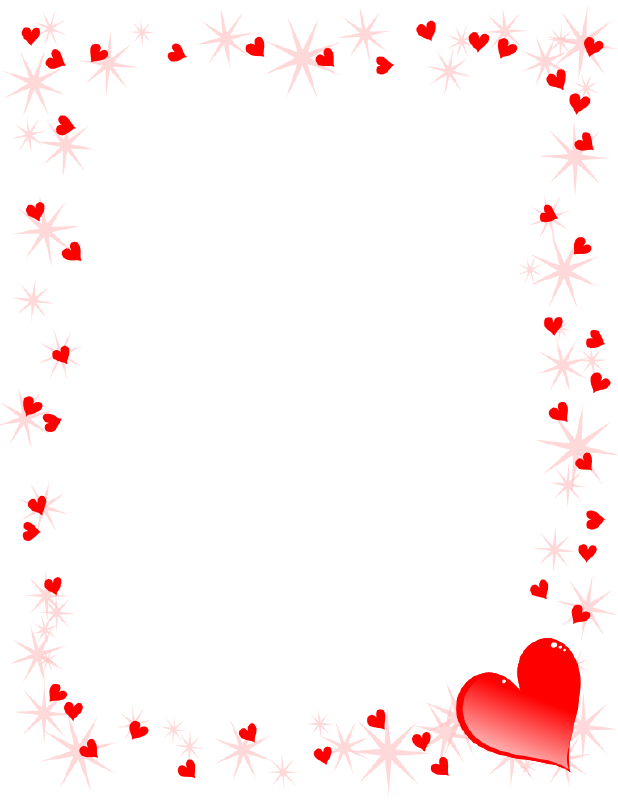 Hearts clipart borders. The top best blogs