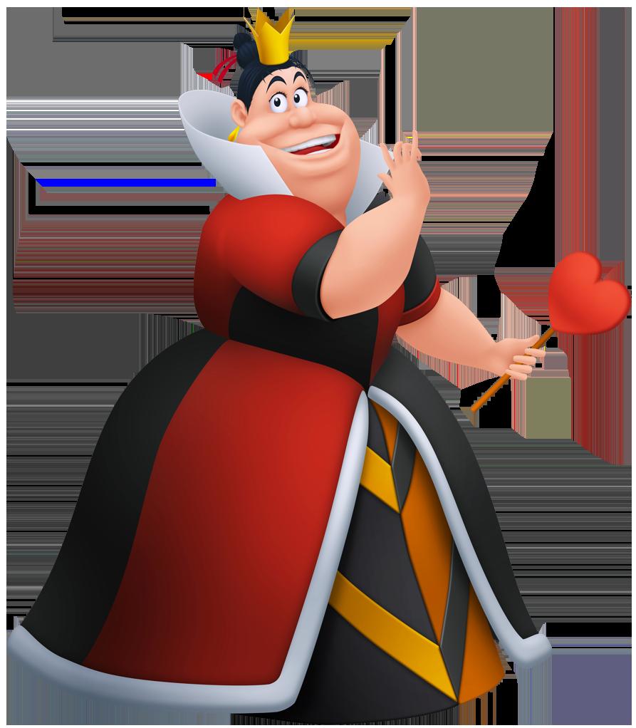 Alice in wonderland clipart. Queen of hearts png