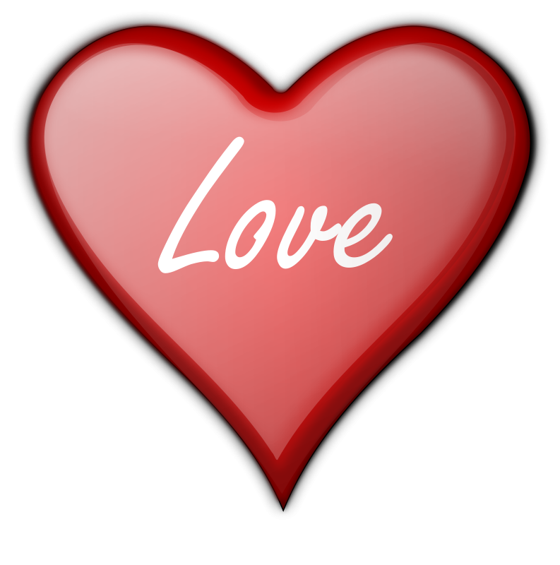 Heart clipart transparent background. Free stock photo illustration
