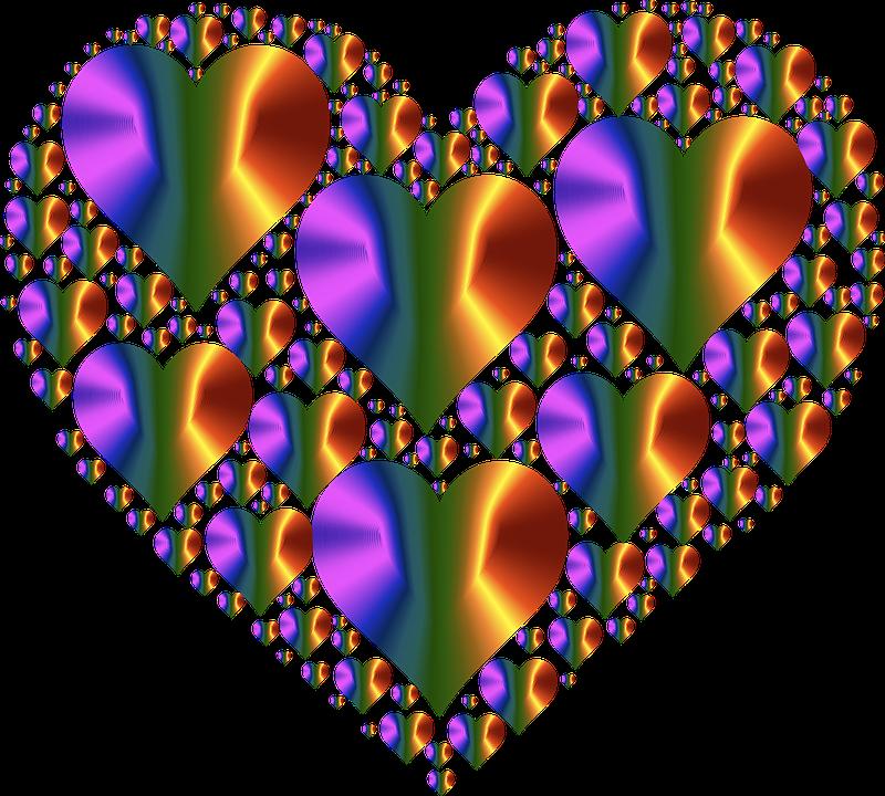 Heat clipart love hearts. Free image on pixabay
