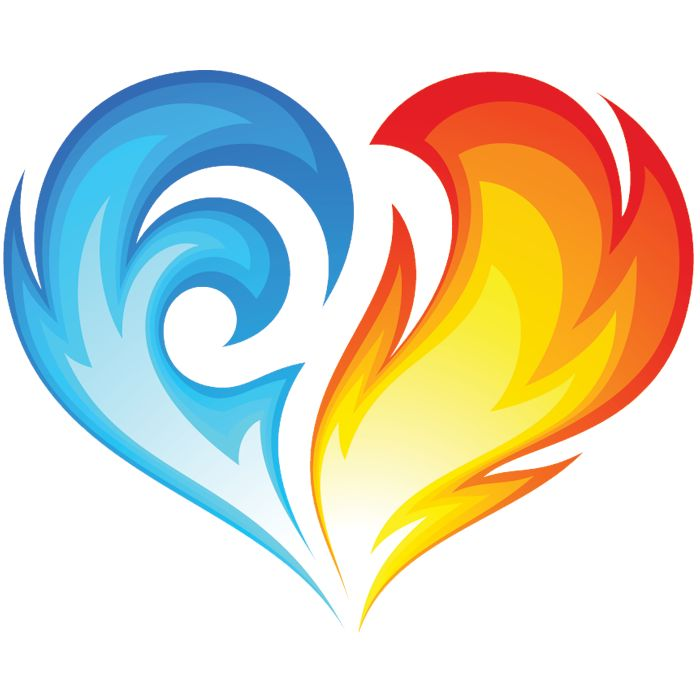 Fire clipart love. Free hearts cliparts download