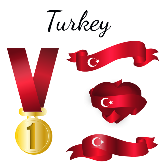 Clipart turkey banner. Flag country png and