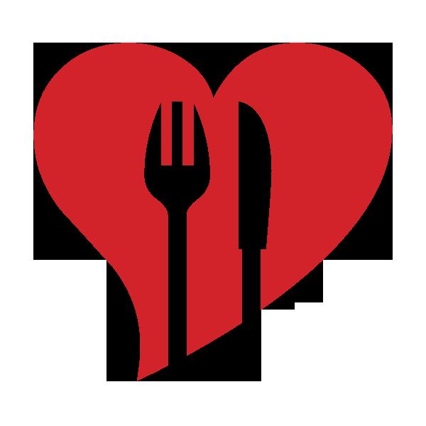 Heat clipart row heart. Food