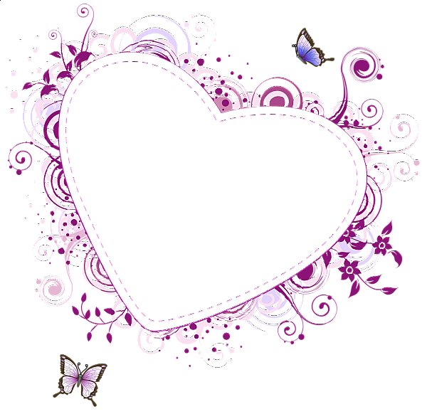 Red png stylish heart. Clipart hearts frame