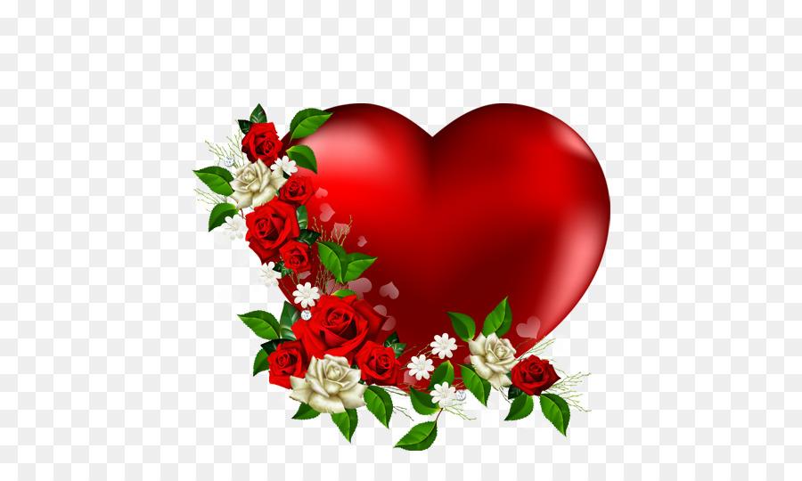 Clipart hearts garden. Valentines day heart flower
