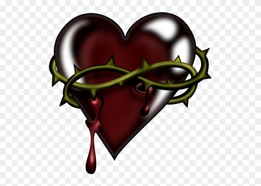 Valentine wild spikes emo. Hearts clipart halloween
