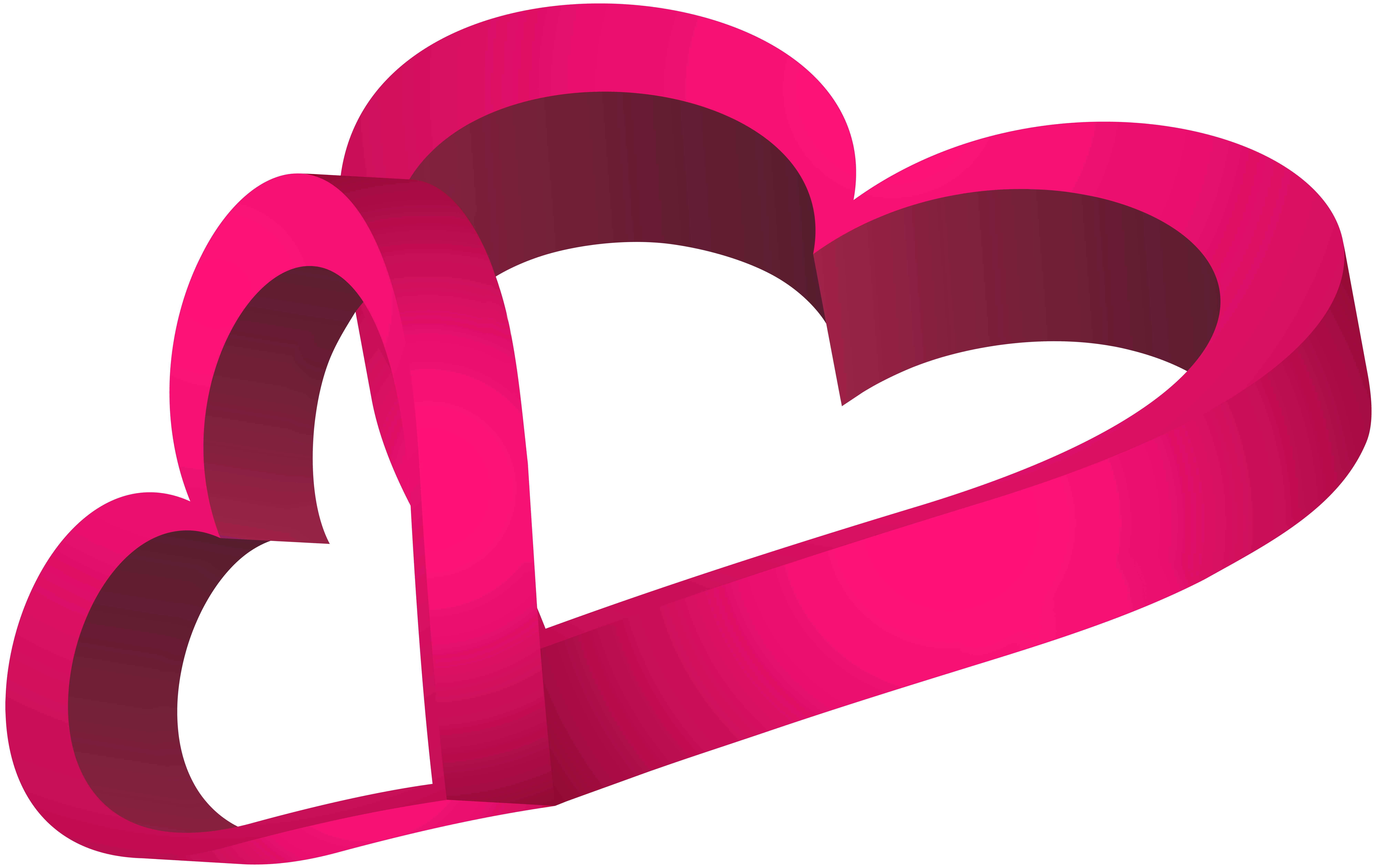 Clipart hearts halloween. Two pink png clip