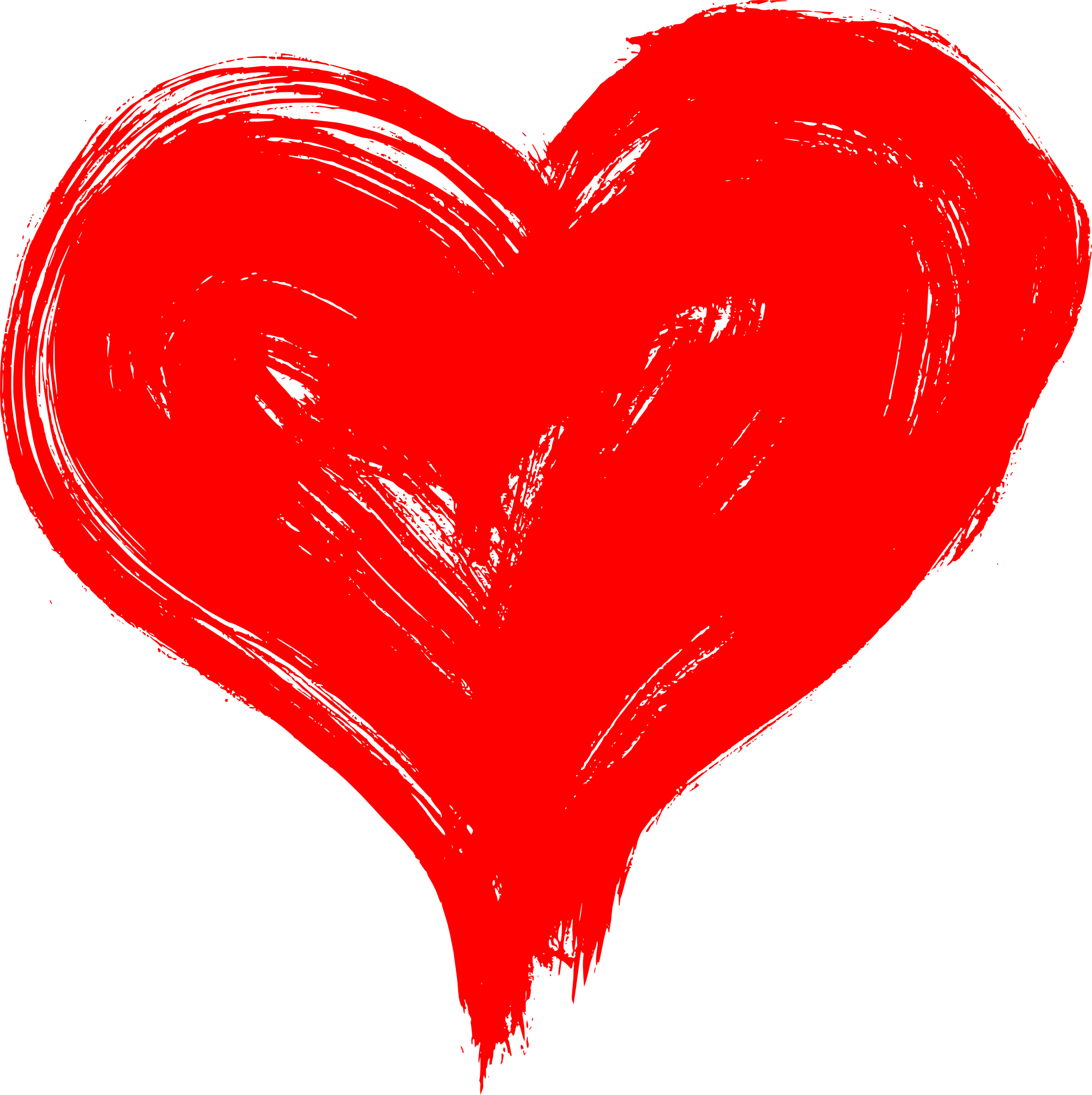 Hand drawn transparent onlygfx. Heart png images