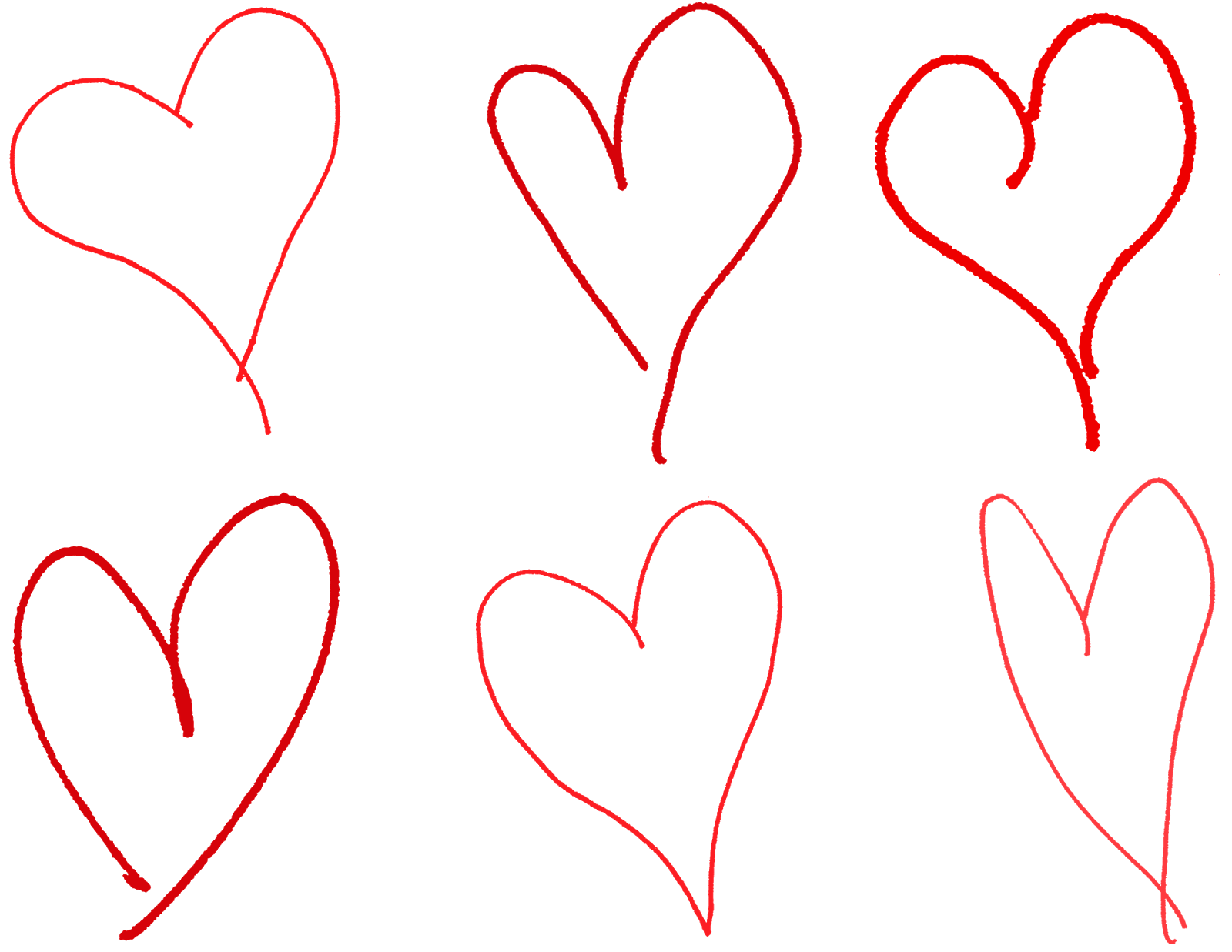 Drawing clipart heart. Digital stamp design hand