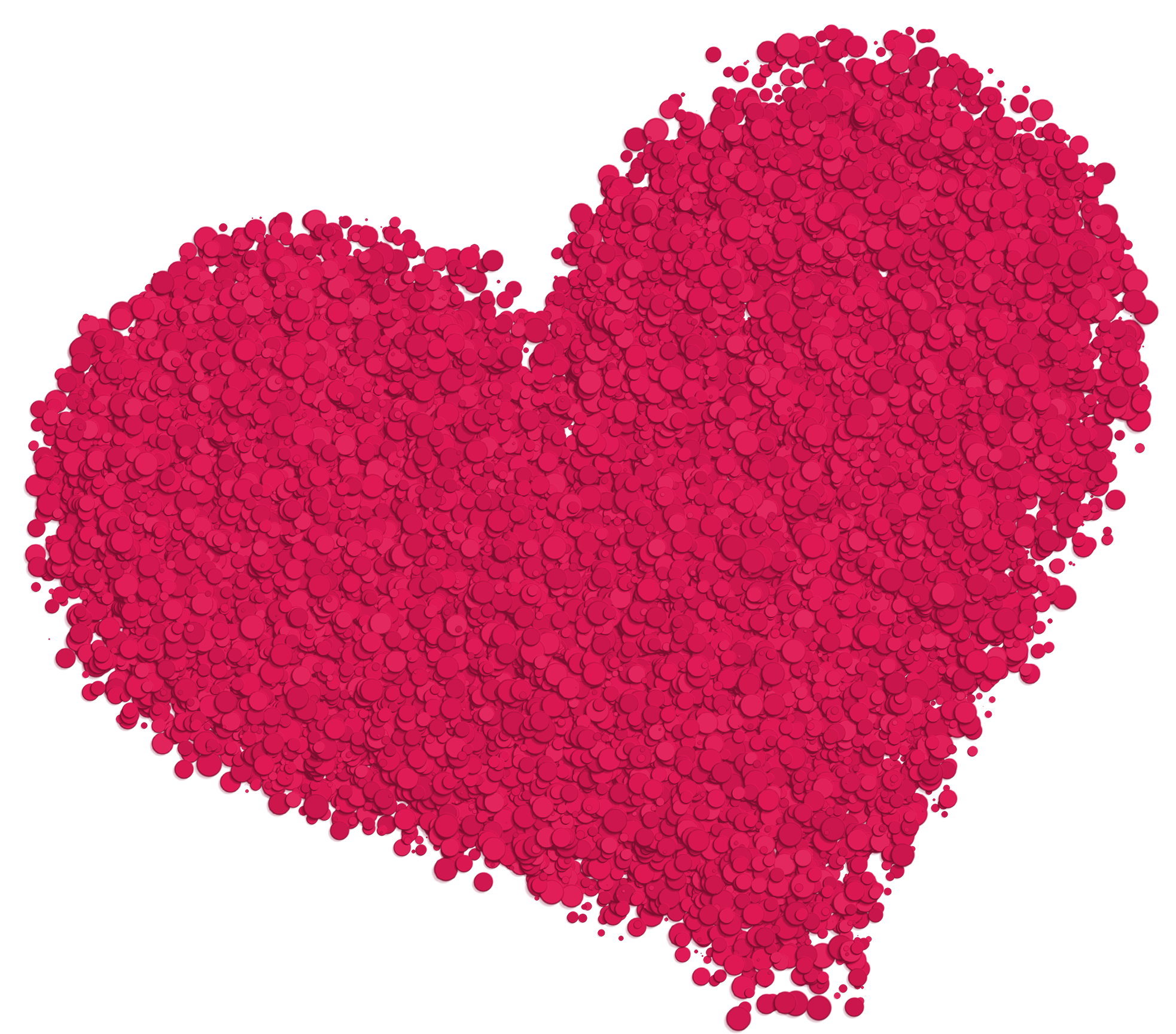 Hearts clipart winter. Large deco heart png