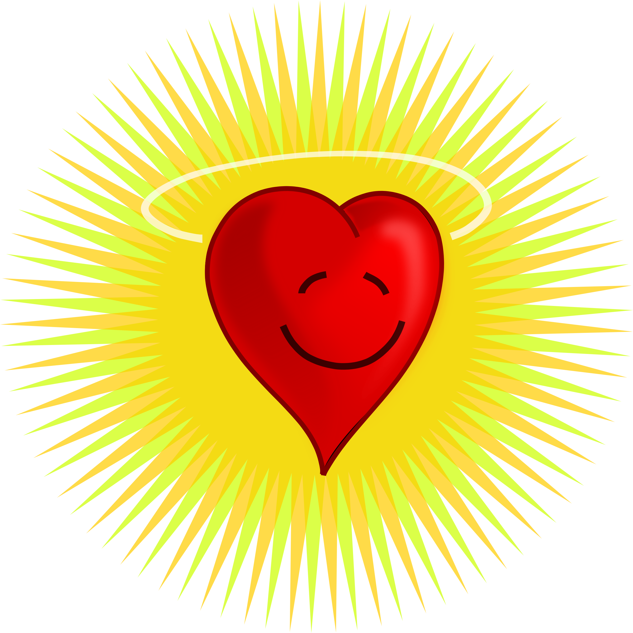 Hearts clipart sun. Happy heart icons png