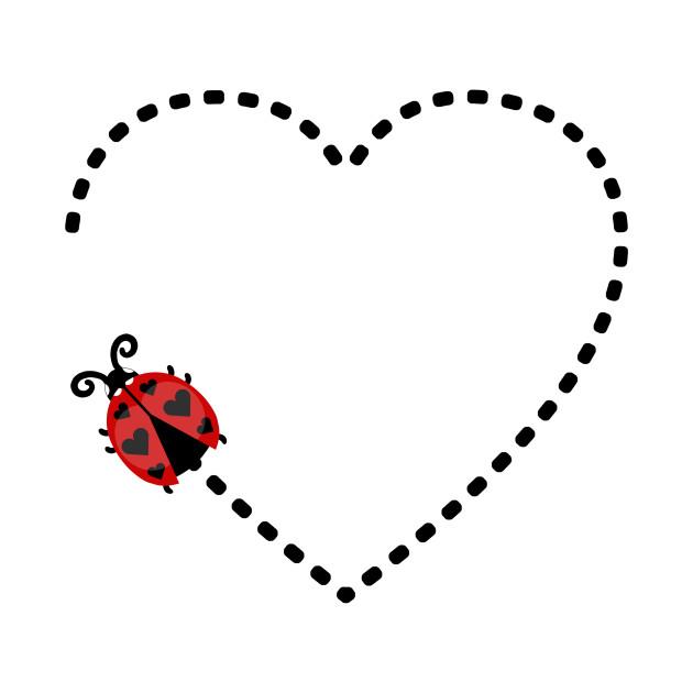 Ladybug . Ladybugs clipart heart