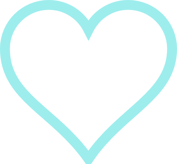 Two panda free images. Clipart hearts light blue