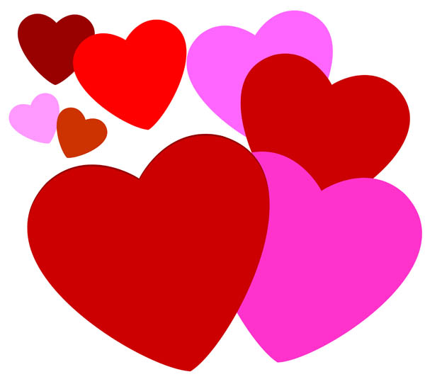 Free download clip art. Hearts clipart love