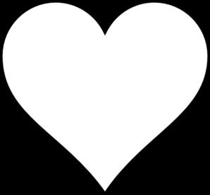 Blank heart clip art. Hearts clipart map