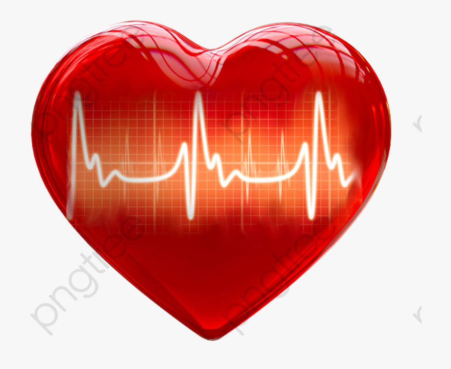 Heart with heartbeat free. Hearts clipart medical