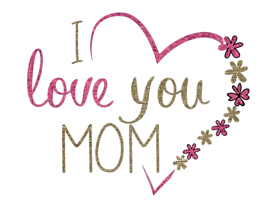 Hearts clipart mothers day. Thank you mom best